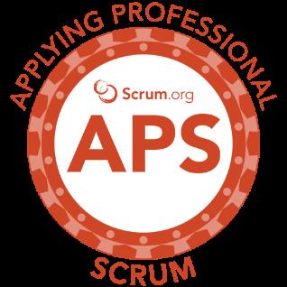 Applying Professional Scrum Logo